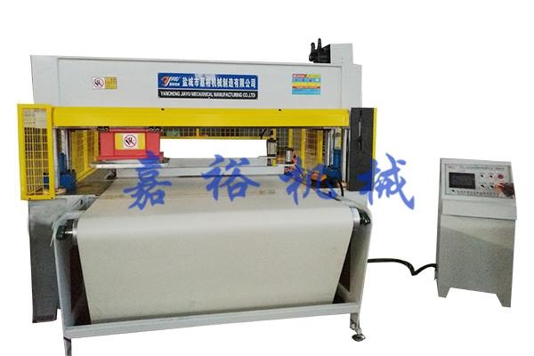 全自动输送带360度旋转精密液压移动式裁断机